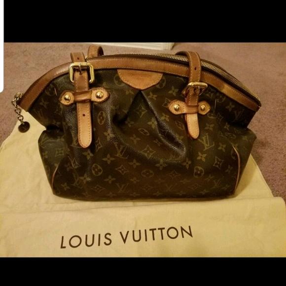 Large * Vintage Louis Vuitton Tivoli GM Tote Bag